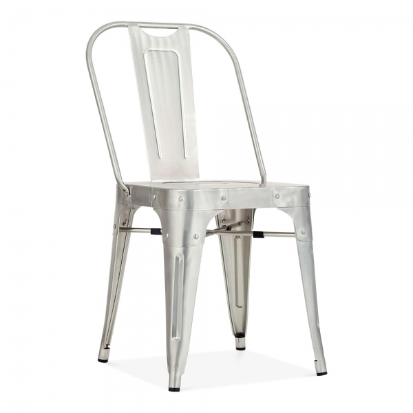metal stol Shoreditch Metal Stol Galvaniseret | Cult Furniture DK metal stol
