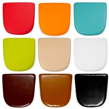 Faux Leather Seat Pads For Tolix Style Dining Chair