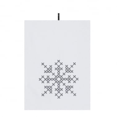 Christmas Crossstitch Designs Cotton Tea Towels, 2 Pack