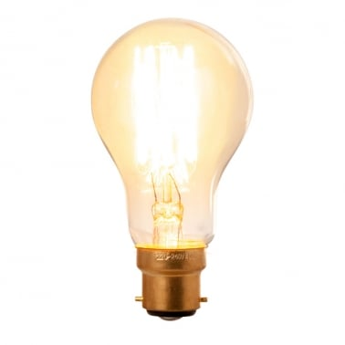 Squirrel Filament Dimmable Light Bulb A60 - B22
